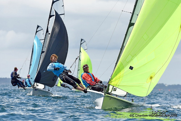 More information on RS500 Eurocup, YC Carnac : An international, mixed and motivated fleet!