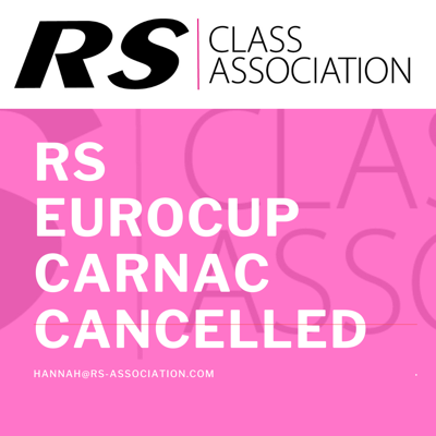 More information on RS Eurocup Carnac Cancelled